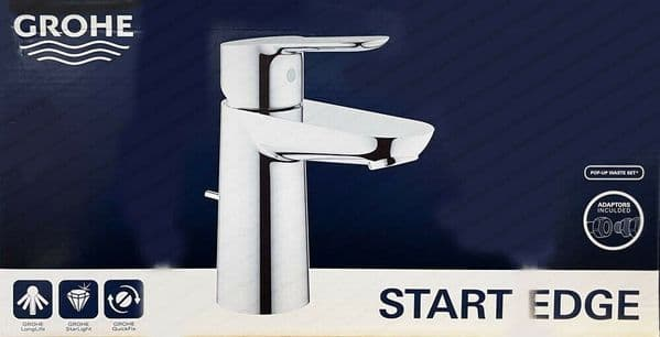GROHE 23830000 Start Edge Single-Lever Basin Mixer Tap